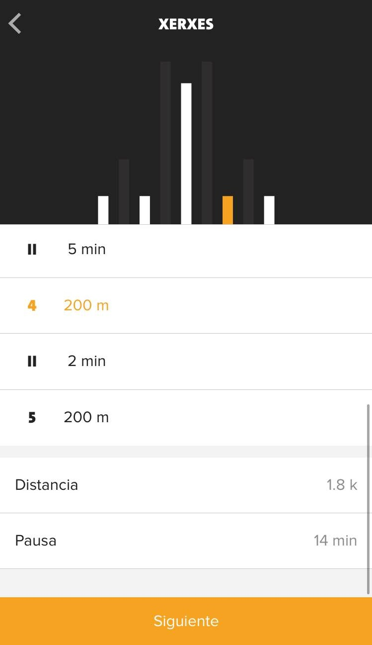 Xerxes Freeletics Running